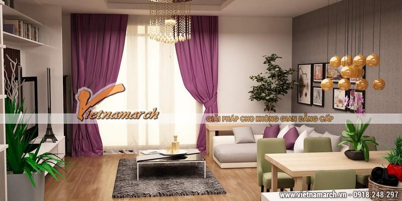 Thiết kế nội thất chung cư căn hộ T4 - 2211 nhà chị Hà.08