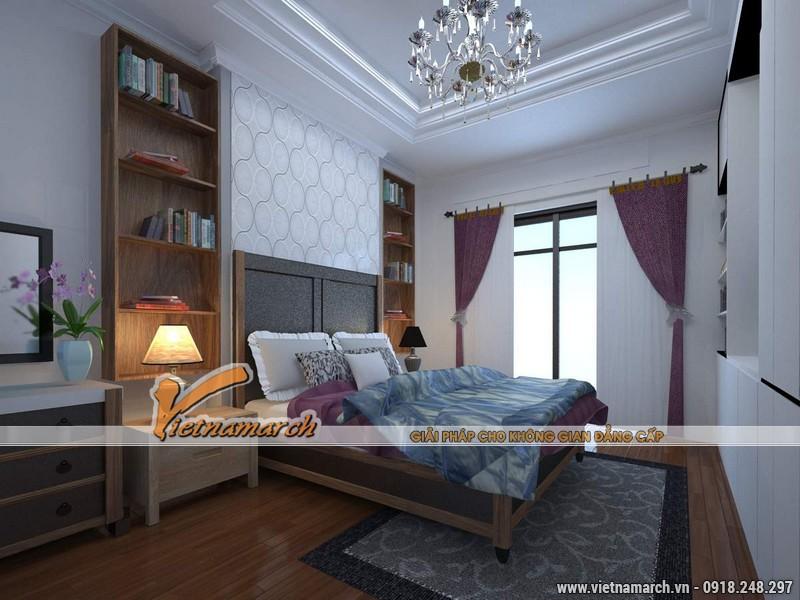 Thiết kế nội thất chung cư căn hộ T4 - 2211 nhà chị Hà.11