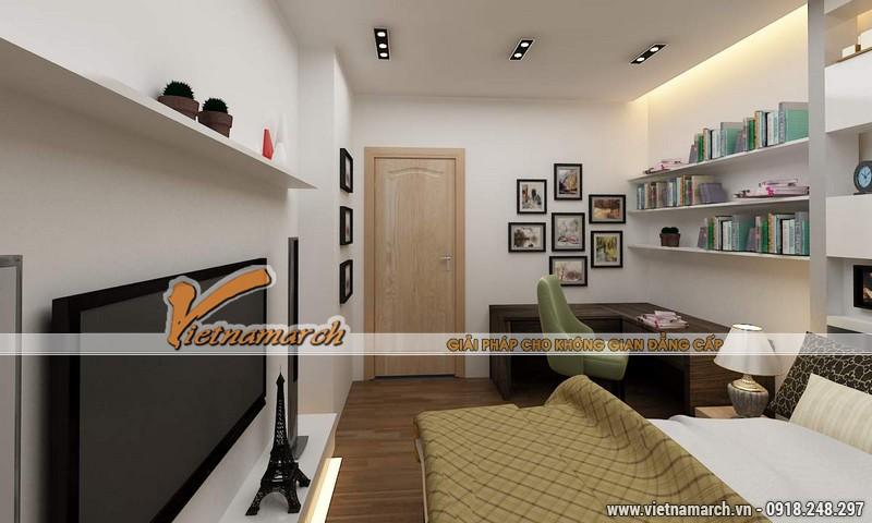 Thiết kế nội thất chung cư căn hộ T4 - 2211 nhà chị Hà.13
