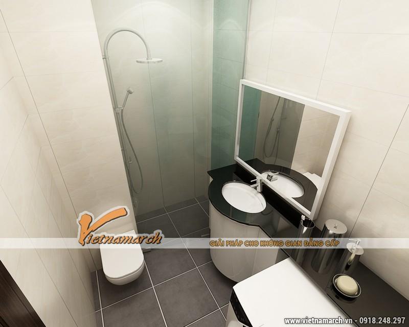 Thiết kế nội thất chung cư Times City căn hộ T2-1518 nhà chi Trang 18