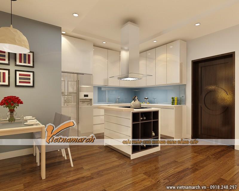 Thiết kế nội thất chung cư Times City căn hộ T2-1518 nhà chi Trang 08
