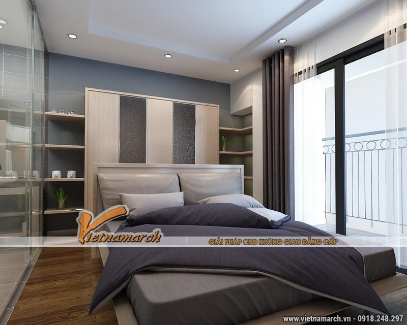 Thiết kế nội thất chung cư Times City căn hộ T2-1518 nhà chi Trang 10