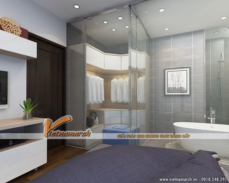 Thiết kế nội thất chung cư Times City căn hộ T2-1518 nhà chi Trang 17