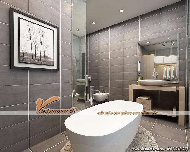Thiết kế nội thất chung cư Times City căn hộ T2-1518 nhà chi Trang 16