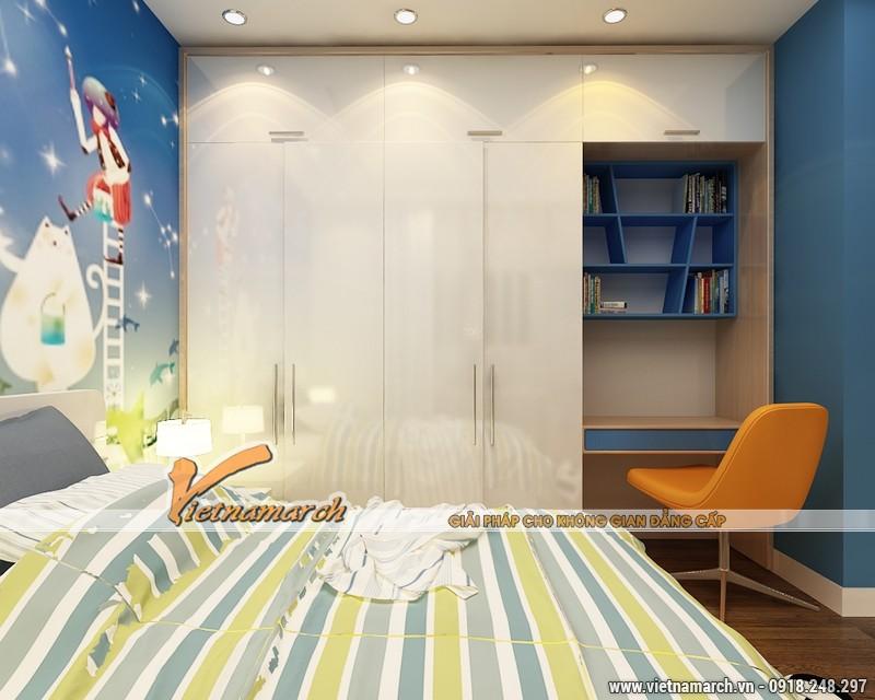 Thiết kế nội thất chung cư Times City căn hộ T2-1518 nhà chi Trang 12