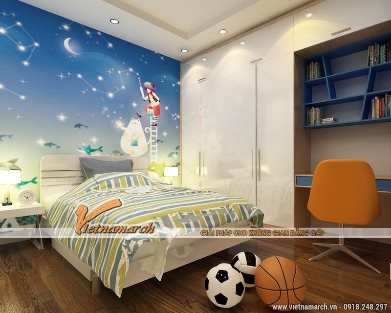 Thiết kế nội thất chung cư Times City căn hộ T2-1518 nhà chi Trang 13