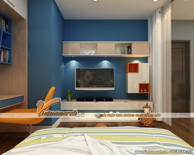 Thiết kế nội thất chung cư Times City căn hộ T2-1518 nhà chi Trang 14